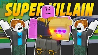 BECOMING A SUPER VILLAIN | Superhero City (ROBLOX)