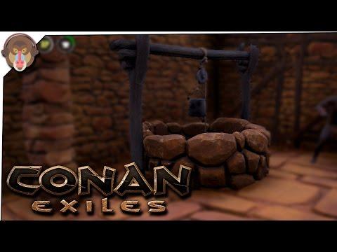 Conan Exiles Gameplay - P10 - Water Well, Iron Deposit, Thrall Capture #ConanExiles