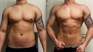 EPIC 3 MONTH NATURAL BODY TRANSFORMATION!