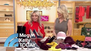 Megyn Kelly Learns How To Wear Velvet And How You Can Too! | Megyn Kelly TODAY