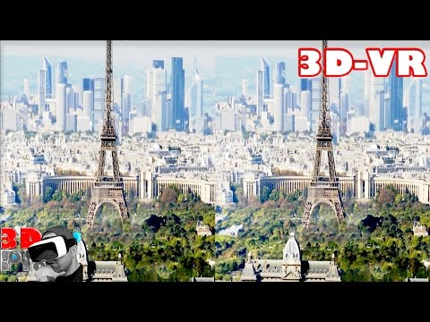 3D World Cities Compilation | 3D Side by Side SBS VR Active Passive