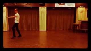 Line dance like a hula hula hoop