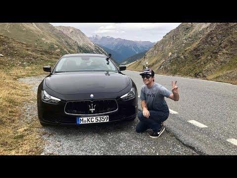 Maserati Ghibli VS Stelvio Pass! - Is it the Best Driving Road in the World?