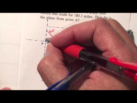 P9 Trig Unit 7 - Bearing Navigation Law of Cosines
