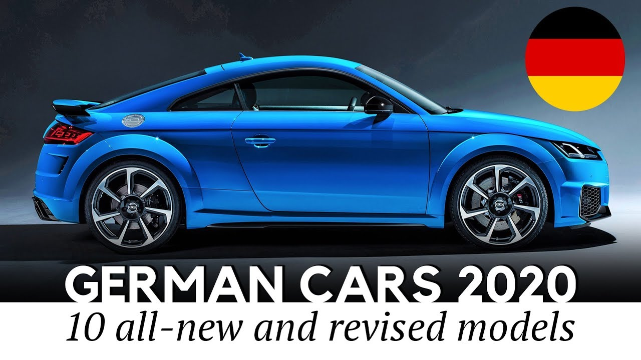 Top 10 New German Cars and SUVs Unveiled for the 2020 Model Year - YouTube