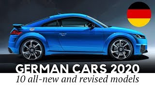 Top 10 New German Cars and SUVs Unveiled for the 2020 Model Year