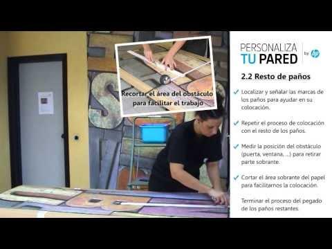 Colocar un mural papel sin quitar gotel www - Quitar gotele leroy merlin ...