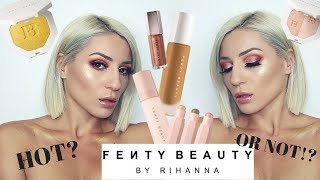 FENTY BEAUTY - FULL REVIEW! HOT OR NOT?! || GIO DREVELI ||