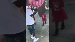 Dad Surprises Daughter With Valentine's Day Gifts