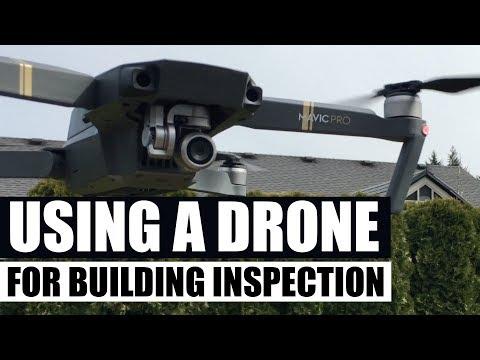 Using a 4K Mavic Pro drone to diagnose roof damage