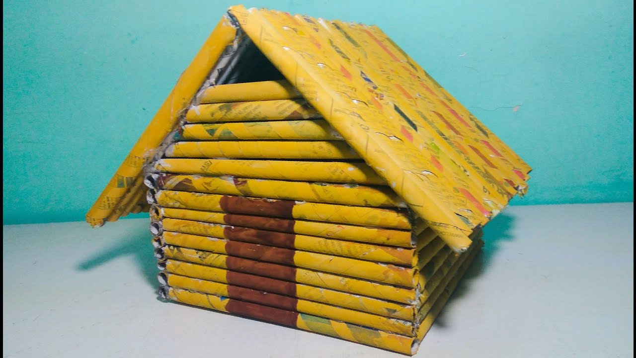 how to make paper houses - Selo.l-ink.co