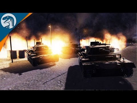 DEFENSE LINE IN NORTH AFRICA | COD MOD | Men of War: Assault Squad 2 [MOD] Gameplay