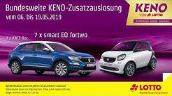 Bundesweite KENO-Zusatzauslosung 2019