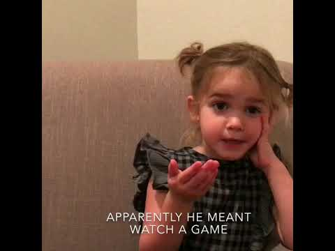 Mila discovers the joys of football season