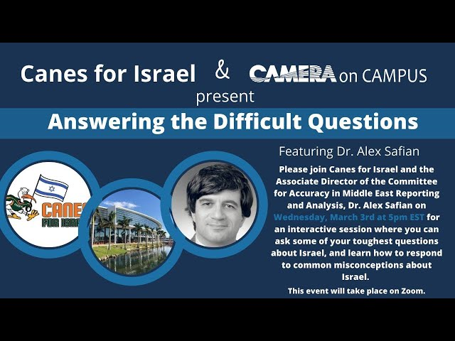 Answering the Difficult Questions with Dr. Alex Safian