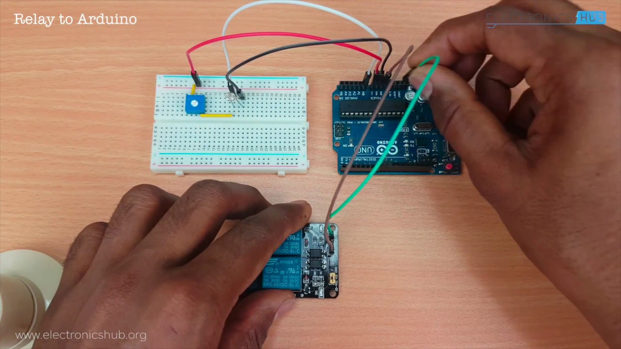 Using 5V Relay on Arduino - YouTube on arduino relay example, arduino 110v relay, arduino transistor relay, arduino solid state relay, arduino relay tutorial, arduino 12v relay, arduino 120v relay, arduino relay diagram, arduino 24v relay,