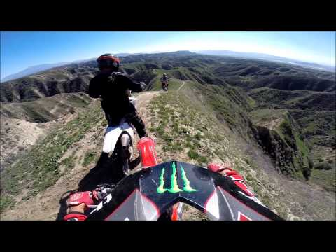 Beaumont Hills, CA dirtbike riding 2015