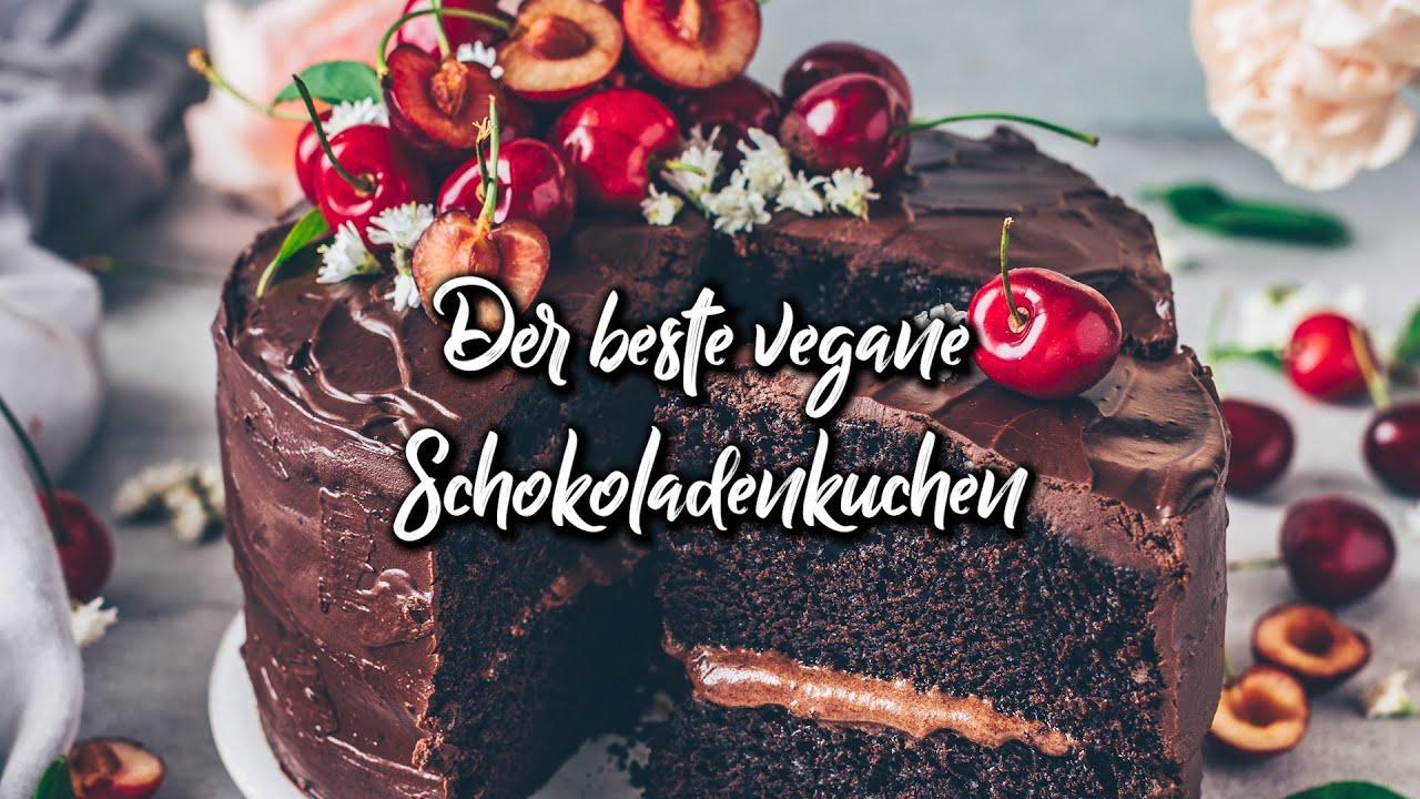 Veganer Schokoladenkuchen - das beste Rezept