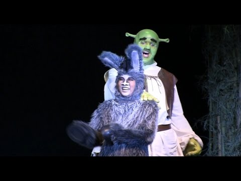 Travel Song (Why Me?) - Shrek the Musical, UHS Unionville HS 2016