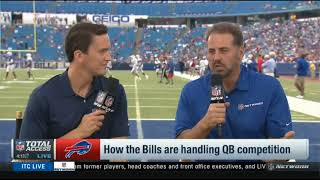 How the Bills are handling QB competition? | NFL Total Access