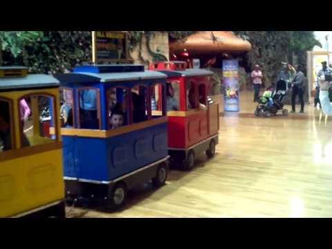 Grapevine Mills Mall Train Ride