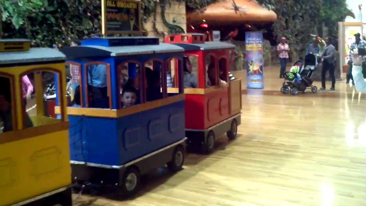Grapevine Mills Mall Train Ride - YouTube