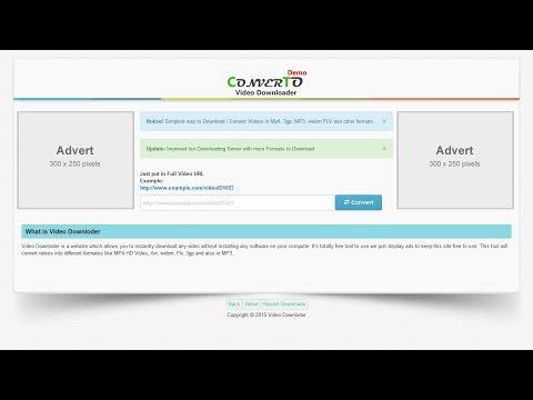 ConverTo Video Downloader & Converter CMS