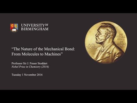 Nobel Lecture - Sir Fraser Stoddart