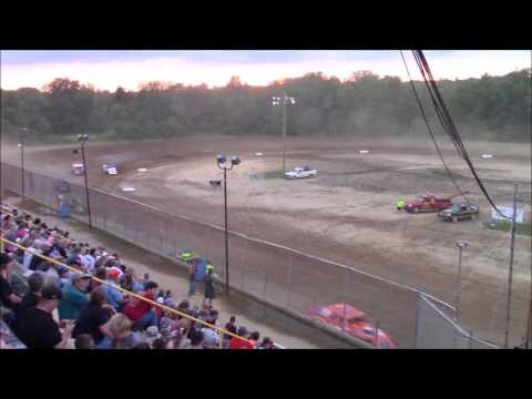 Butler Motor Speedway UMP Modified B-Main 7/1/17