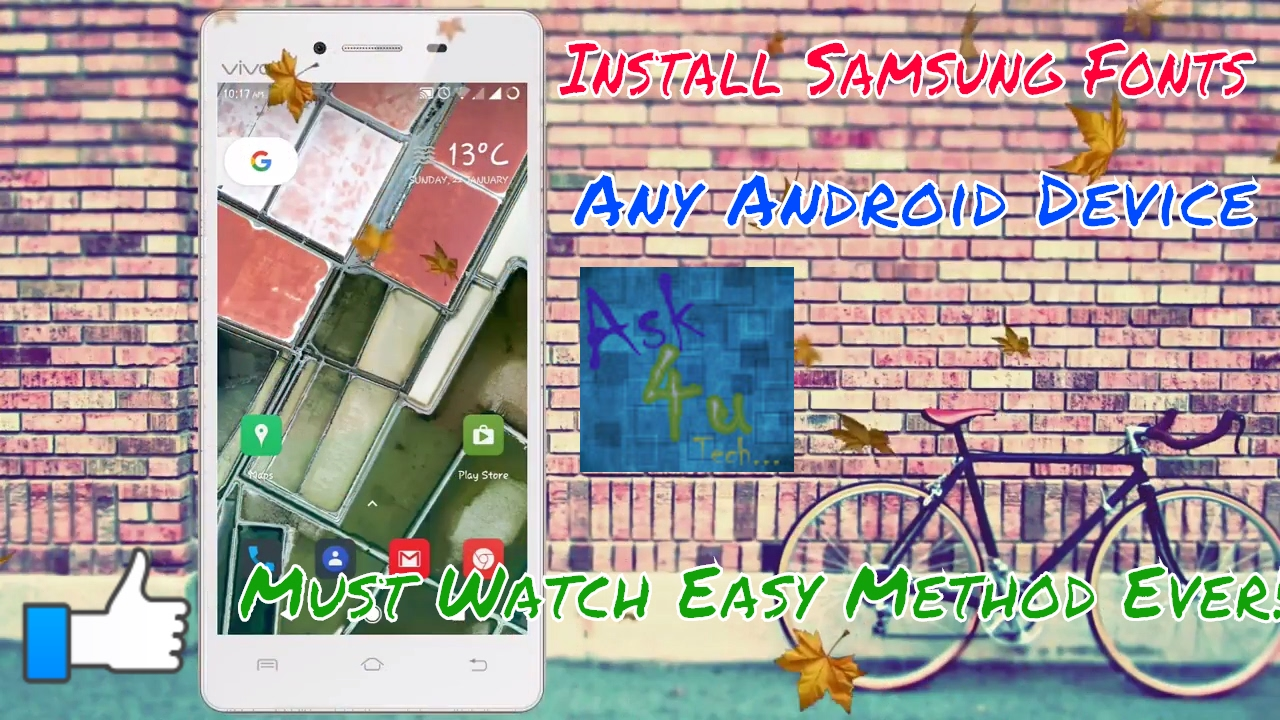 How To Install Samsung fonts (rosemary) in any android devices   Ask 4uTech