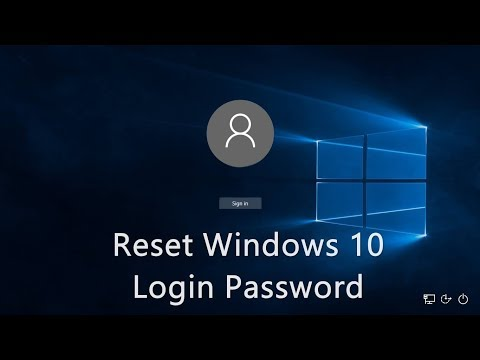Windows 10 Password Reset In Hindi  100% Working
