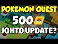 Pokemon Quest Update! 500PM Ticket Start + Johto Possible? (Pokemon Quest 1.1 Patch Notes)