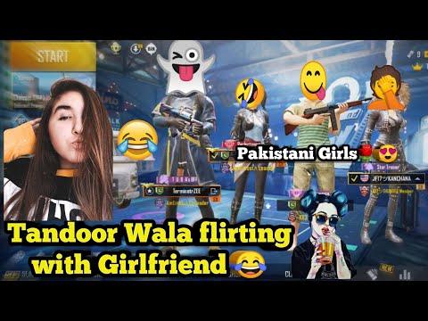 (PUBG Mobile) Tandoor Wala Boy Flirting With Pakistani Girl / Funny Voice Chat