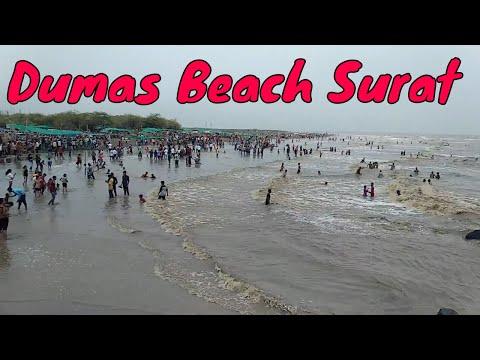 Dumas Surat | Dumas Beach Surat Gujarat | Most Beautiful Place in Surat