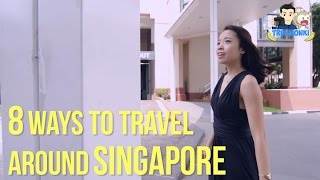 8 Ways to Travel Around Singapore