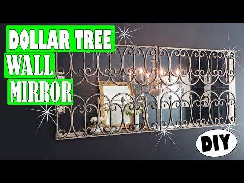 Dollar Tree DIY Wall Mirror Room Decor