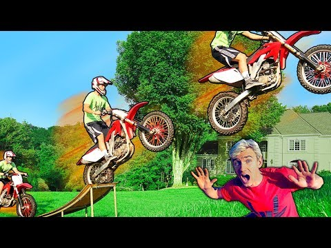 EPIC DIRT BIKE JUMP!!