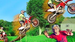 EPIC DIRT BIKE JUMP!!