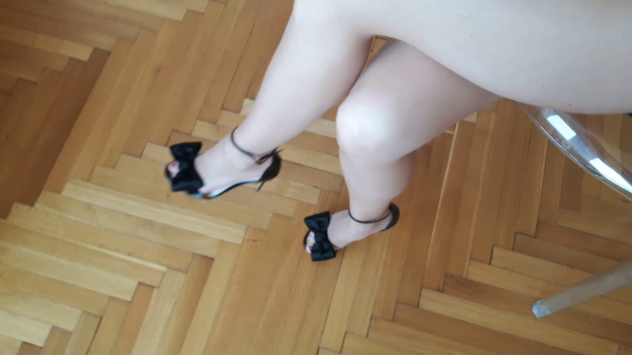 High Heels Lerre Sandals and Pantyhose