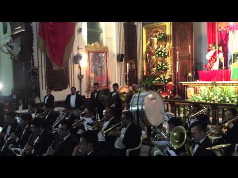 """Estreno dedicado a Jesús de Candelaria """"Cristo Rey"""", Grandeza Eucaristica"""