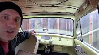 """My """"two-stroke"""" 1958 DKW 3=6  Auto Union Morning Commute"""