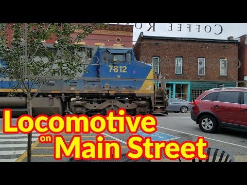 RV Living & Motorhome Travel Kentucky | Trains on Main Street | Colonel Sanders Gravesite
