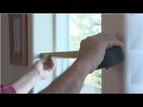 Window Blinds : How to Measure a Window for Blinds & Shades