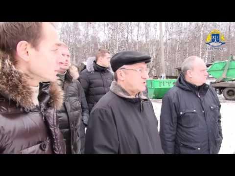 """Виноградов побывал на базе ГБУ """"Жилищник"""""""