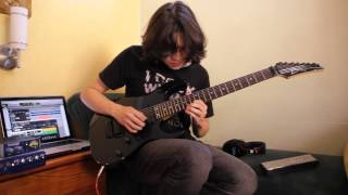 Steve Vai - Warm Regards (Cover by Daniel Molina)