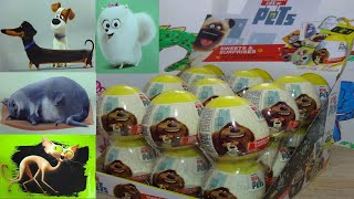 18 Secret Life of Pets Surprise Eggs Opening Toys from Movie #126