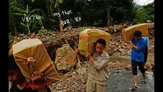 Lũ quét ở xã ít Ong - Mường La - Sơn La