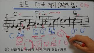 코드를 편곡하는 방법!!