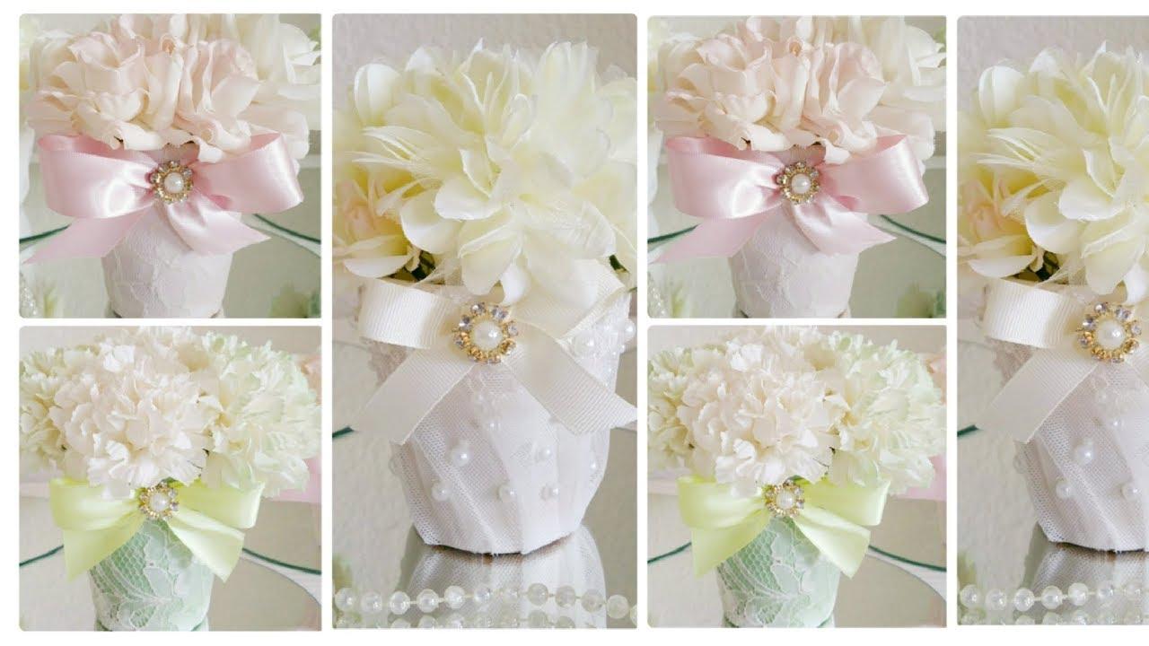 Diy Victorian 3 Piece Wedding Centerpiece Wedding Bridal Shower