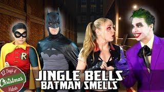 Batman in JINGLE BELLS, BATMAN SMELLS: THE MOVIE C...
